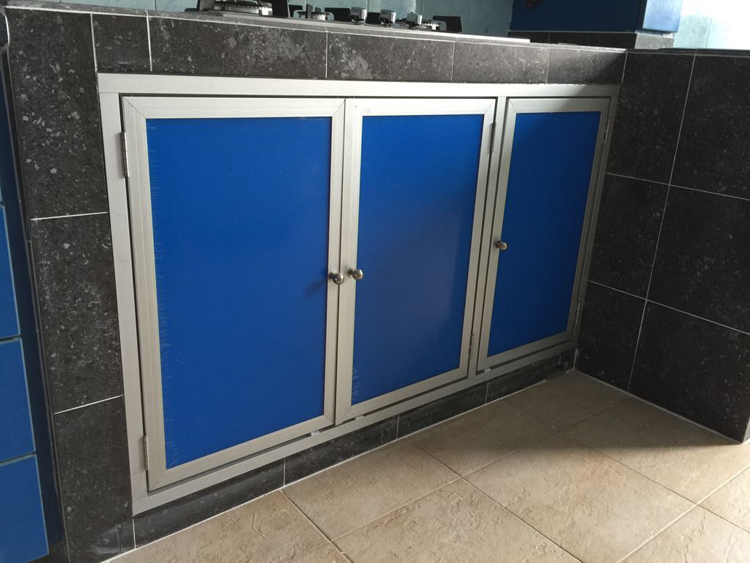 Aluminium Swing Stove Door