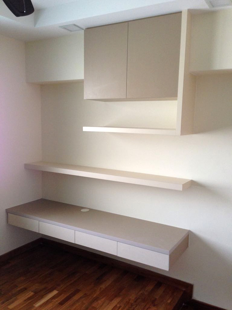 Bedroom Shelves