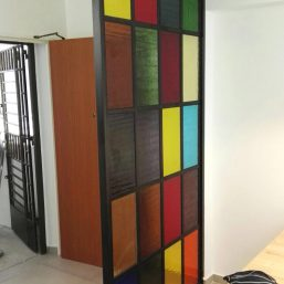 Aluminium Glass Screen