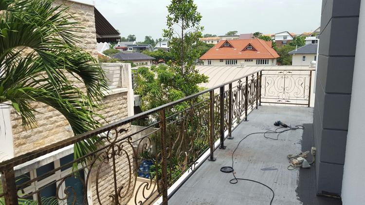 Wrought Iron Balcony Railing