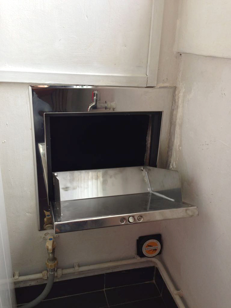 Stainless Steel Rubbish Chute Top 1 Singapore Safety Window
