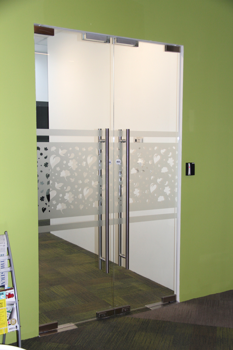 Two-sided Swing Door