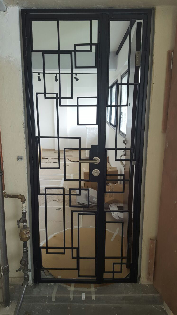 Wrought Iron Gate Top 1 Singapore Safety Window