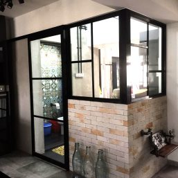 Aluminium Sliding Door With Screen
