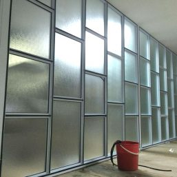 Aluminium Glass Partitioning